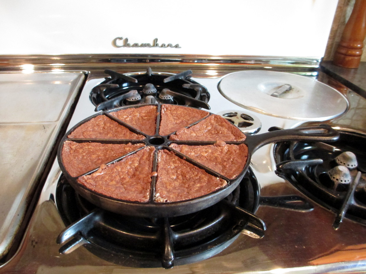how to cook brownies on the stove