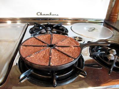 chambers 90c stove range cast iron cornbread