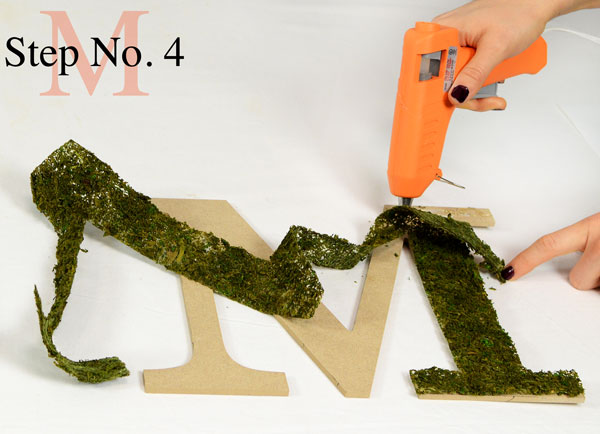 Decorative Letters, Moss Sheet, Tutorials, Moss Crafts, Natural Decor Crafts