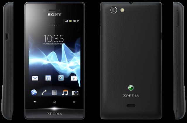 Sony Xperia miro (ST23i – ST23a)