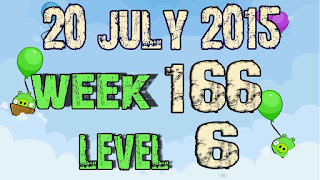 Angry Birds Friends Tournament level 6 Week 166