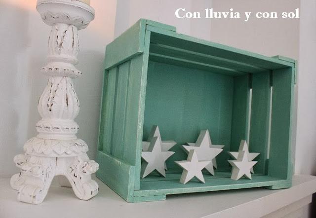 Con lluvia y con sol caja de madera para decorar y organizar - Cajas de madera para decorar ...