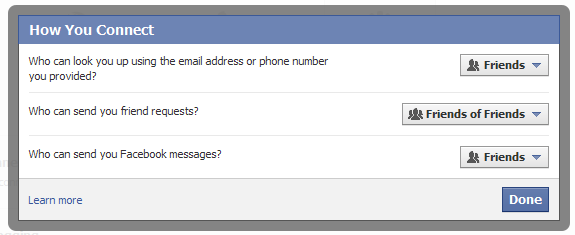 facebookプライバシー設定 公開範囲例:ESETセキュリティブログ