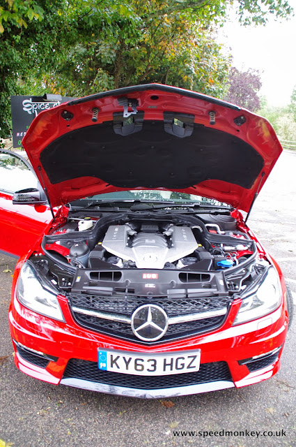 Mercedes C63 AMG Edition 507 engine