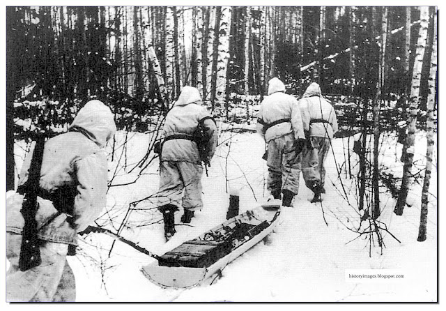 Totenkopf men  Demyansk. 1941 winter