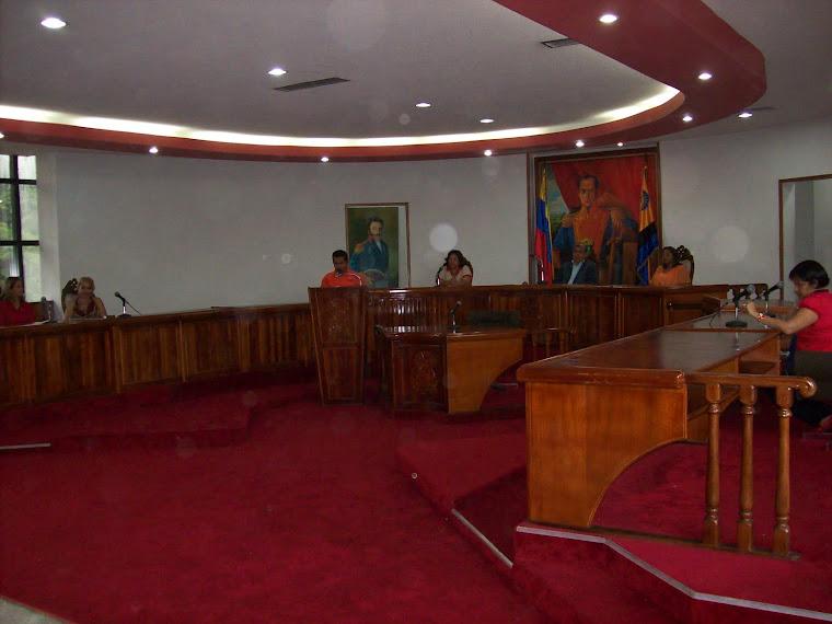Presidium: Jefes de Municipios Escolares