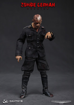 Damtoy 1/6 Scale Zombie German Soldier figure