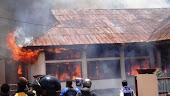 Kantor Pertanian Ngada Terbakar