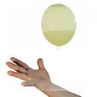 Juego golpea el globo