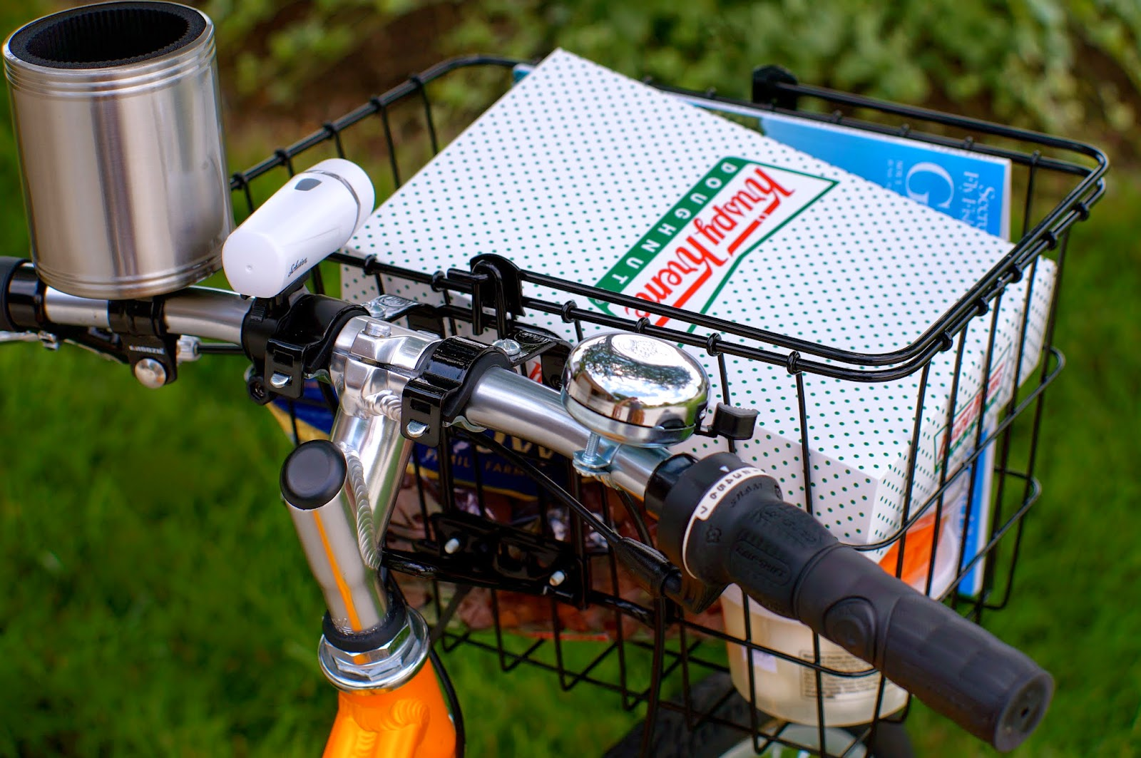 Biking, Krispy Kreme