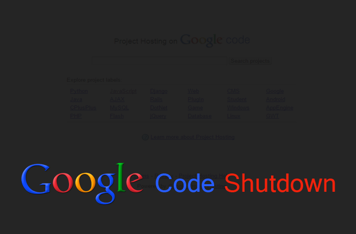 google code shutting down