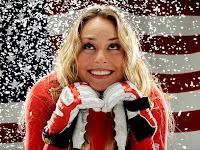 Lindsey Vonn is back on skis