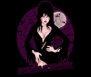 Mistress of the Dark t-shirt at TeeFury