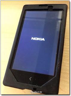 Фото смартфона, является аппаратом Nokia, работающим на операционной системе Android.