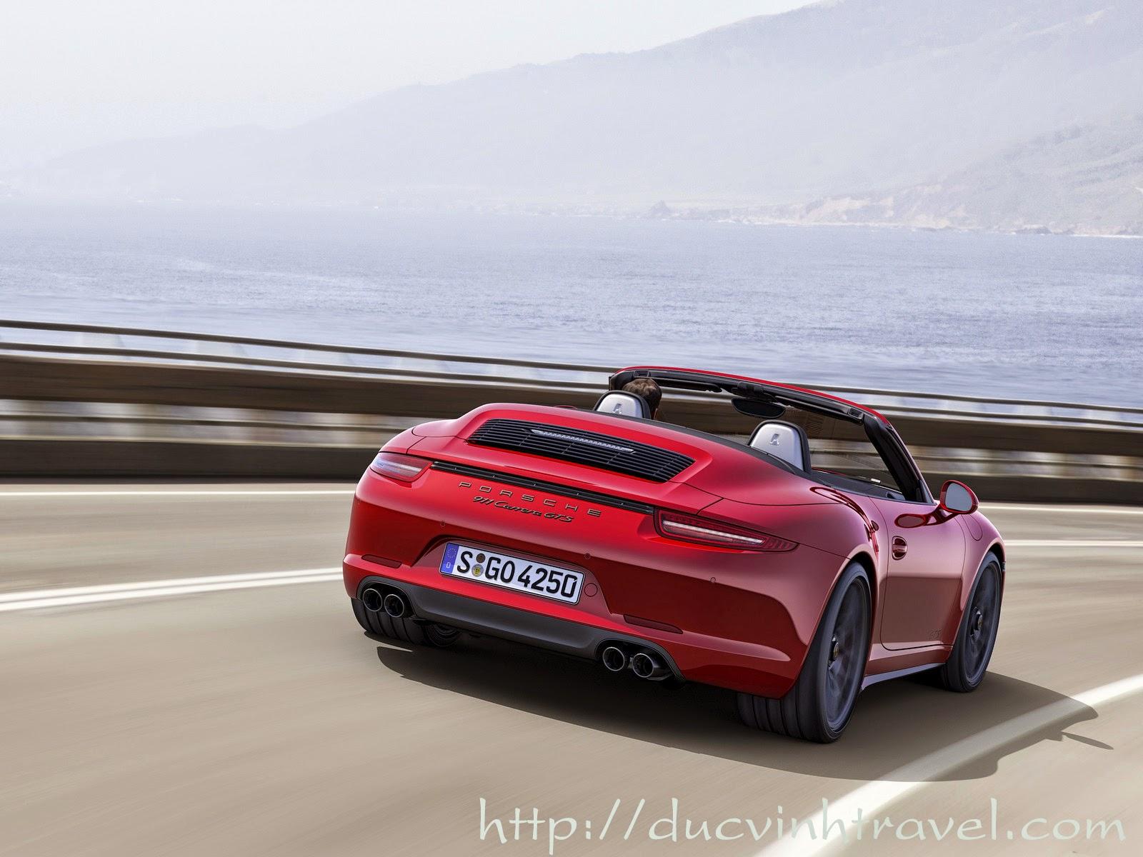 Porsche 911 Carrera GTS được phân phối chính thức tại Việt Nam