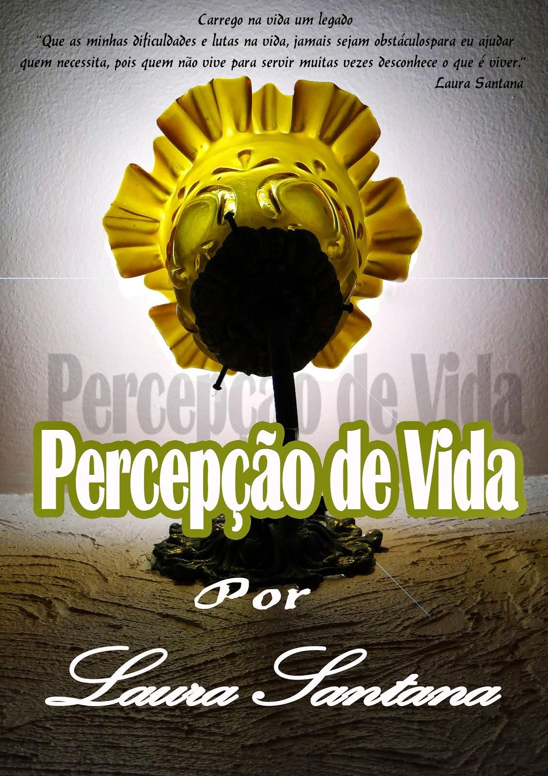 LANÇAMENTO Livro de Laura Santana e Capa de Mauricio Santana