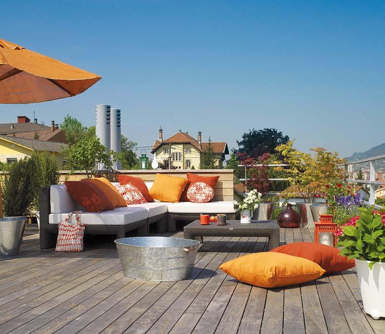 Decoraxpoco balcones terrazas patios - Decoracion en terrazas ...