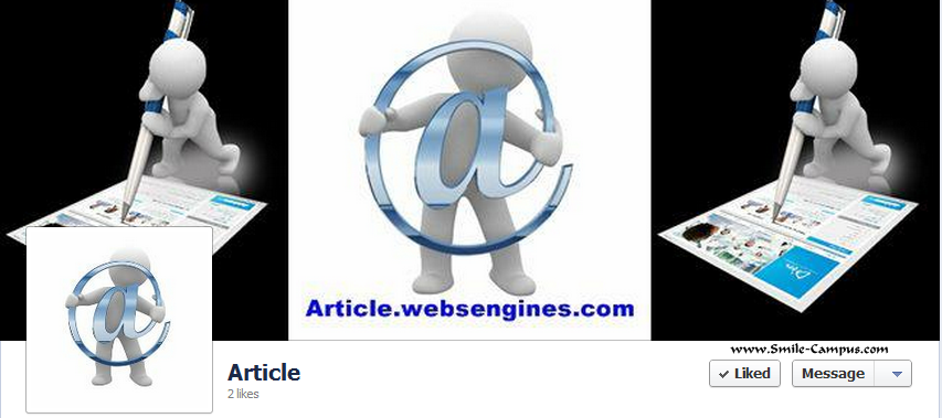 Facebook Fan Page of Article.websengines.com