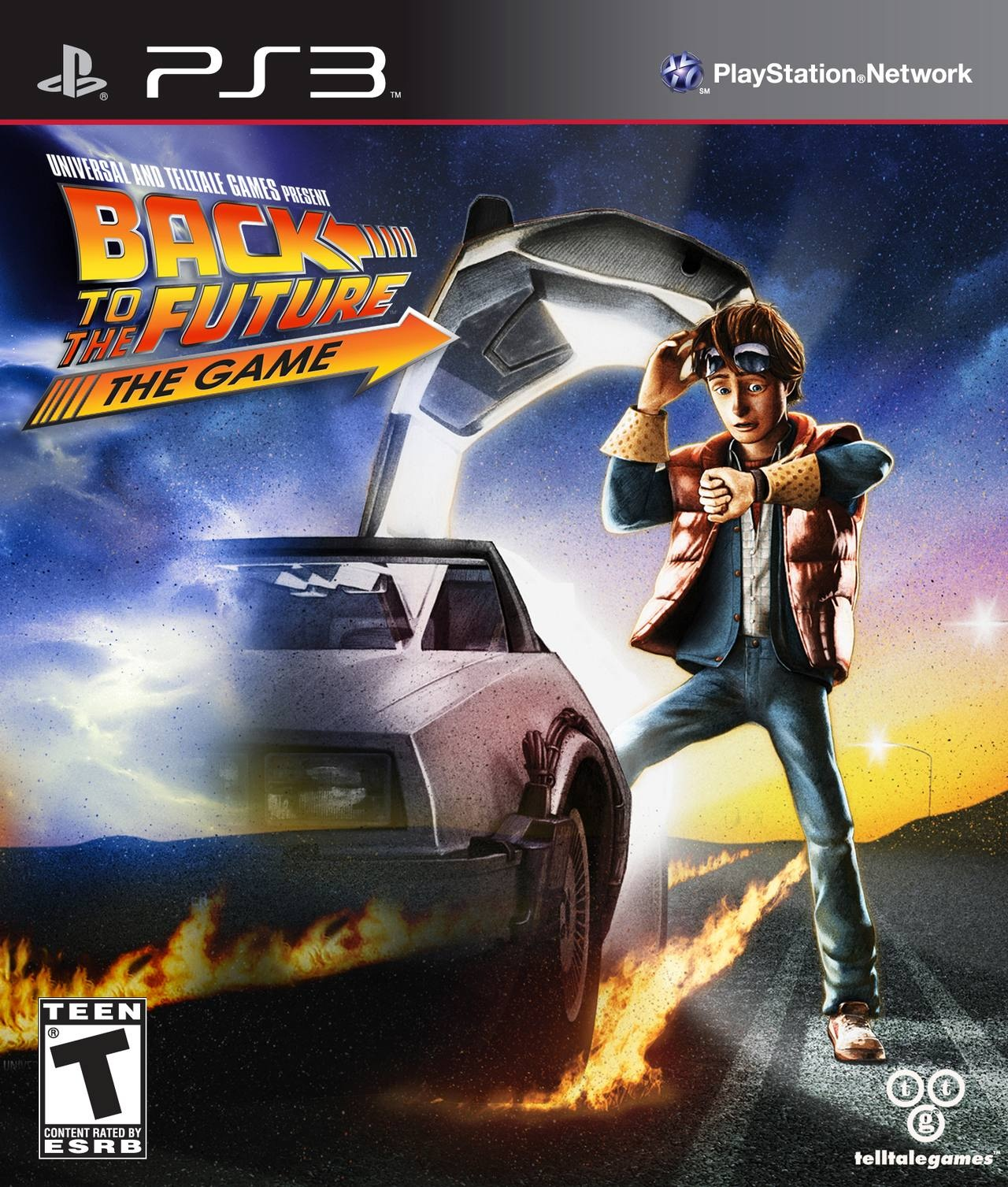 back to the future the game ps3 boxart Back to the Future [ PS3 ]