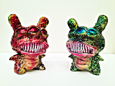 Molten Lava & Sewer Sludge Resin Dunnys by OsirisOrion