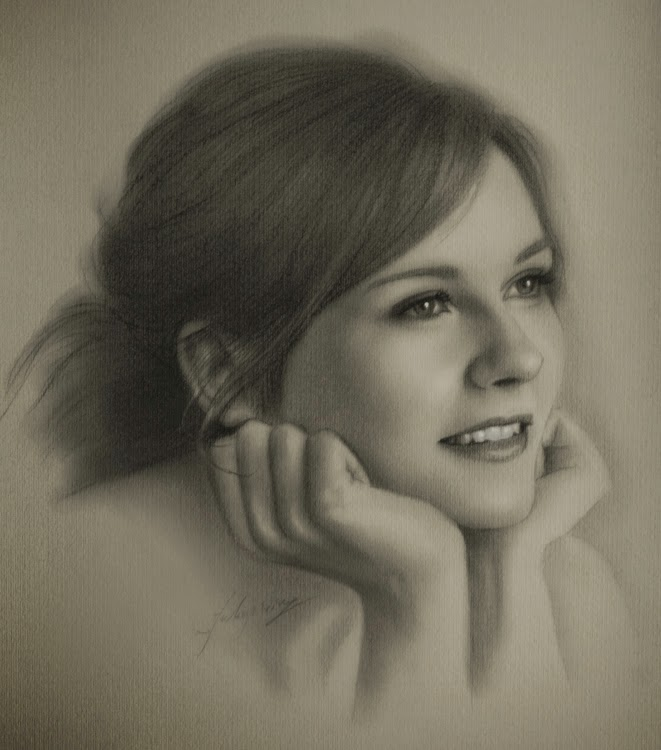 08-Kirsten-Dunst-krzysztof20d-2b-and-8b-Pencils-Clear-Pastel-Celebrity-Drawings-www-designstack-co