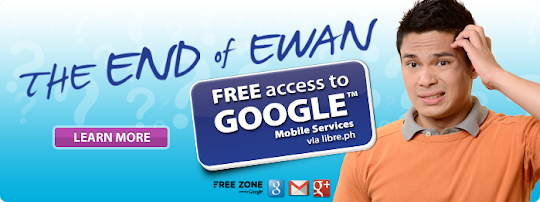 Free Zone, Free Access to Google Mobile Services from Globe!