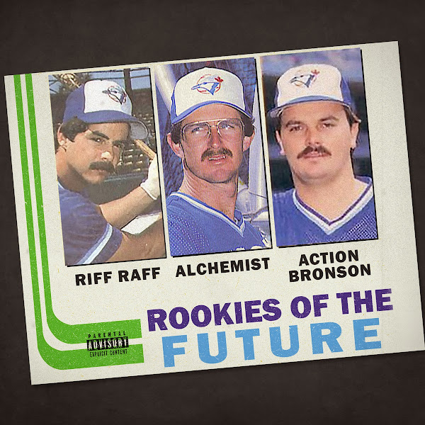 The Alchemist - Rookies of the Future (feat. RiFF RAFF & Action Bronson) - Single Cover