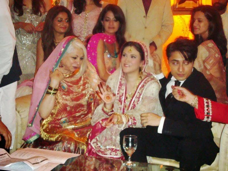 ali zafar with ayesha fazli on  Ali Zafar And Aamir Khan