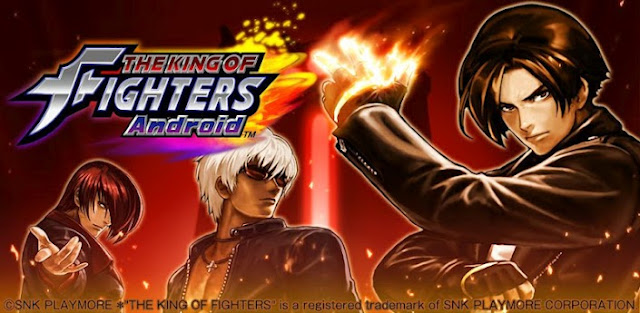 Jogo de luta The King of Fighters para o sistema Android
