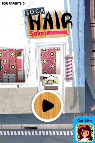Toca Hair Salon Free App Game By Toca Boca AB