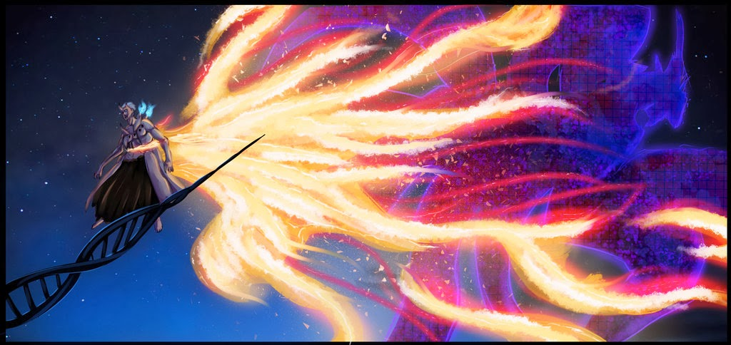 Kyuubi Susanoo Armor Mode | Animecomzone