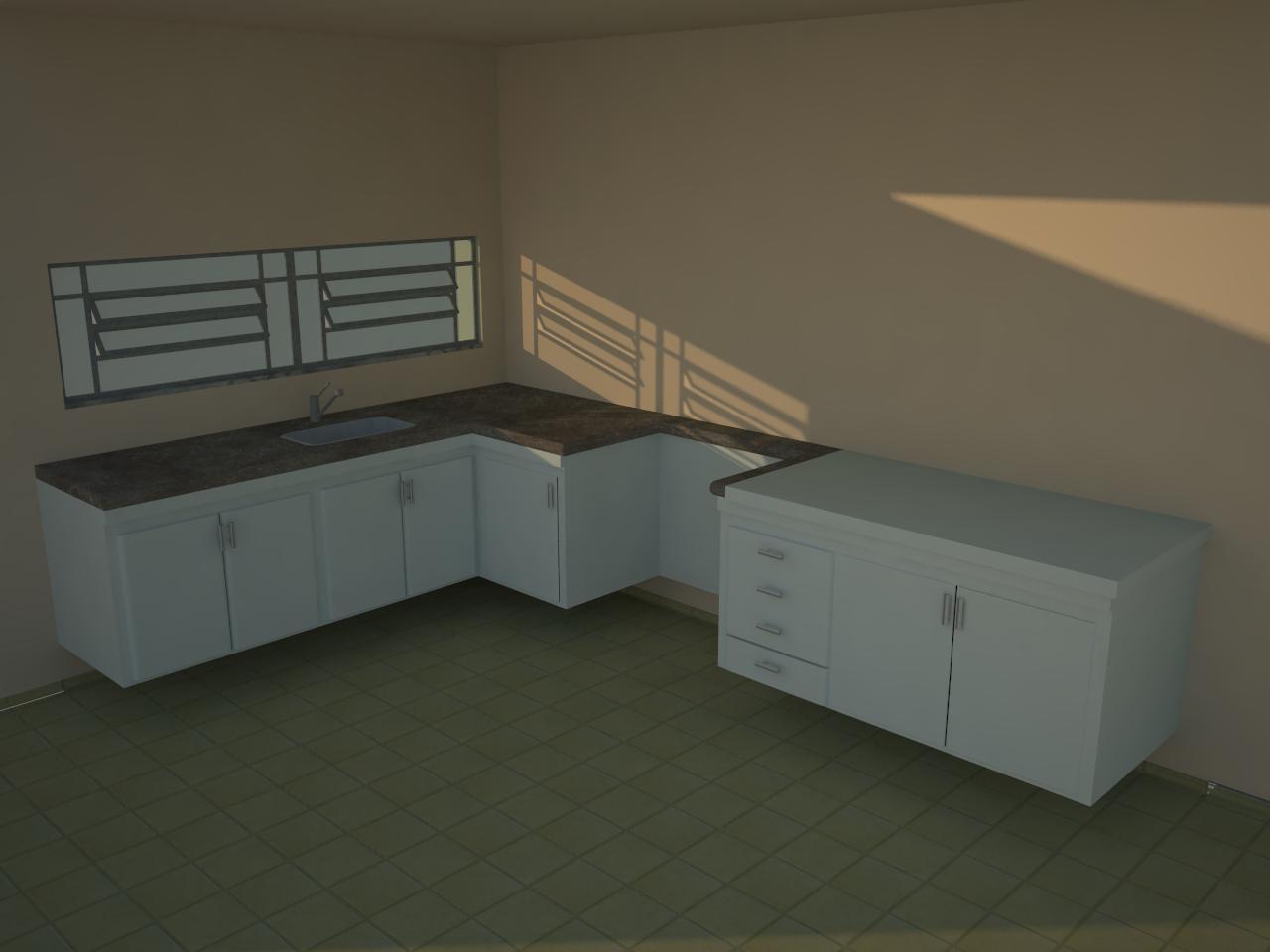 Francisco Pai & Filho: Projeto Armário de Cozinha em L com balcão #846947 1280 960