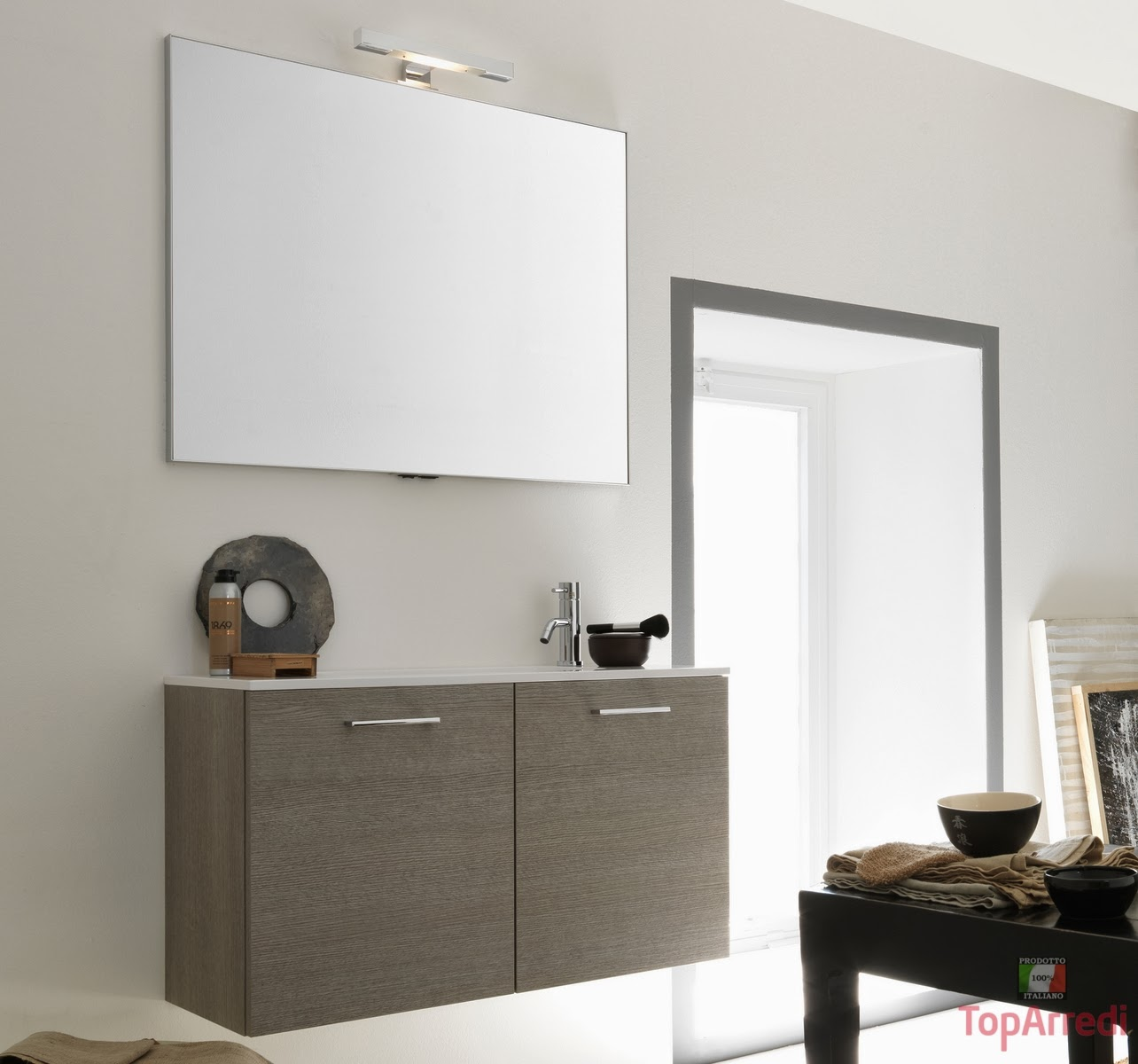 Arredare con classe arredo bagno online for Arredo bagno moderno sospeso