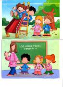 Jornada Diaria en Educación Inicial. ( Etapa Maternal y Preescolar ). (juyt)
