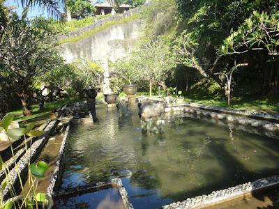 Lotus Pond at Garuda Wisnu Kencana Bali Indonesia