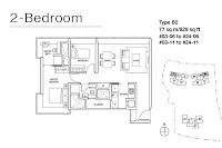 Skyline Residences Floor Plans 2 Bedrooms