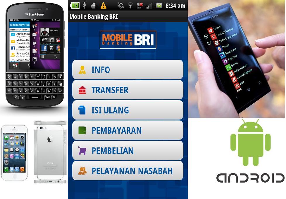 Download Aplikasi BRI Mobile Banking Untuk BlackBerry, Android dan iOS ...