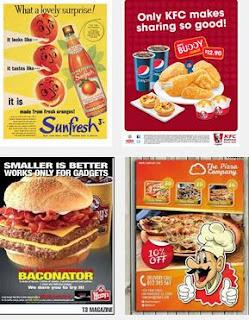 contoh iklan makanan bahasa inggris