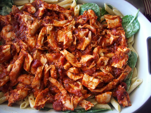 Tomato sauce and chicken #shop