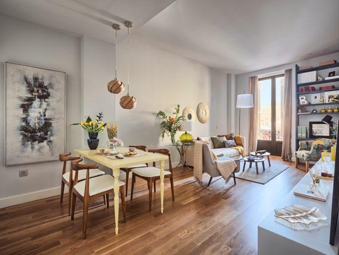 Decoraci n f cil un apartamento con personalidad en malaga for Malaga decoracion