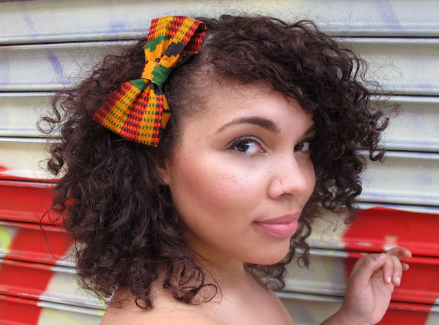around the way curls, hair accessories, natural hair, hair bows antoinette