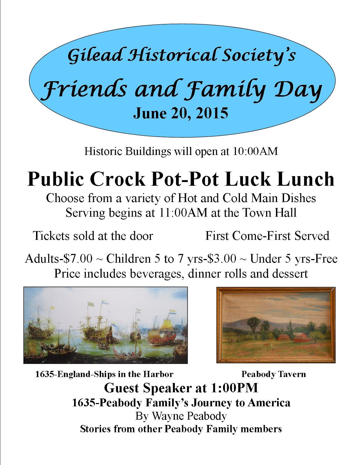 2015 Friends and Family Day