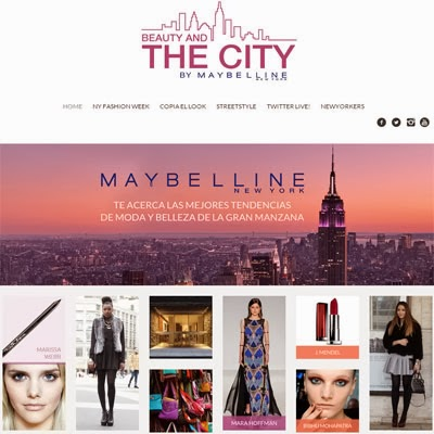 Maybelline New York Beauty and the City tendencias de moda y belleza