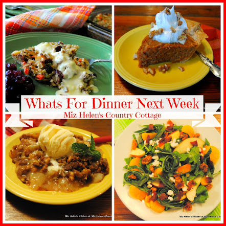 Whats For Dinner Next Week * Week Of 12-10-17