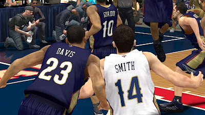 NBA 2K13 Pelicans - David and Smith Jersey Preview
