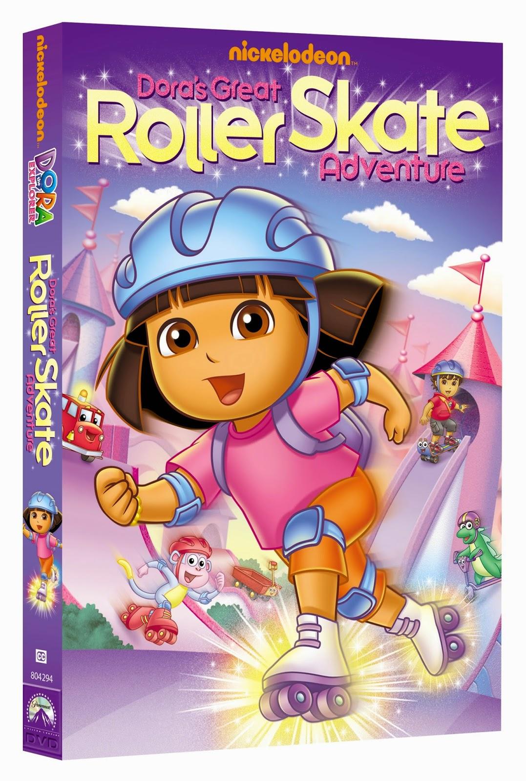 Dora e a Grande Aventura de Patins DVDRip Dublado Dora RollerSkate DVD 3D Oslv