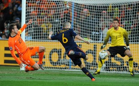 Andrés Iniesta gol Sudafrica 2010