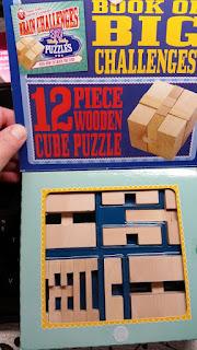 Professor Murphy Wooden Puzzle Set opened