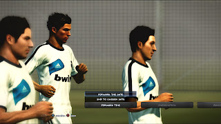 FL Training Kits Real Madrid PES 2013