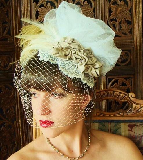 Exquisite Wedding Head Pieces: Elegant Chic Bride: Chic And Elegant Wedding Headpieces